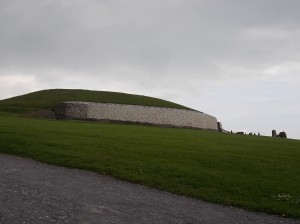 Newgrange passage tomb.