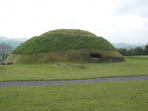 One of the mounds at Knowth.