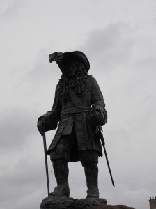 King William III. He was not a tall man, which is not entirely obvious from this picture.